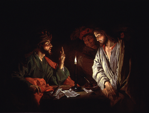 jesus and caiaphas