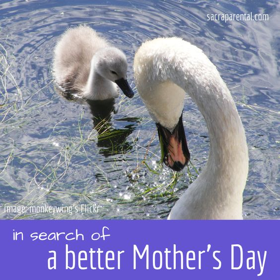 In search of a better mother's day   Sacraparental.com
