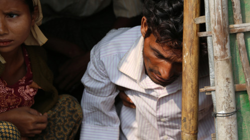 A man from the badly persecuted Rohingya ethnic minority, in a concentration camp in western Myanmar. Read more of his story on the Partners blog: blog.partners.ngo | And learn how to pray for this precious country at Sacraparental.com