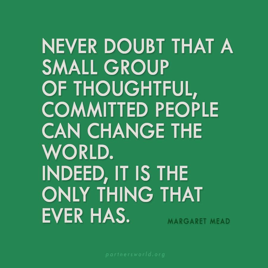 Margaret Mead change the world